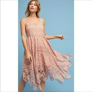 Beautiful Peachy Anthropologie dress NWT